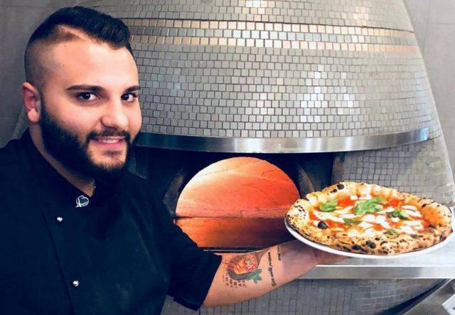 Simone De Gregorio il nuovo pizzaiolo a La Rosa di Trentola