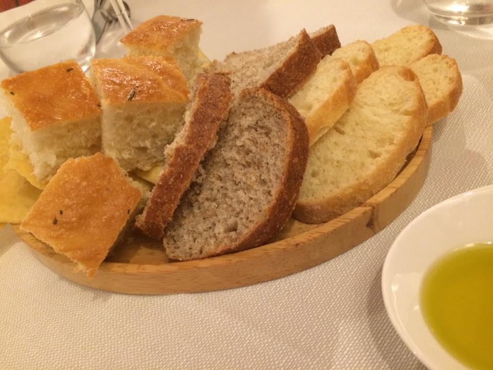 Vecio Fritolin, pane e olio