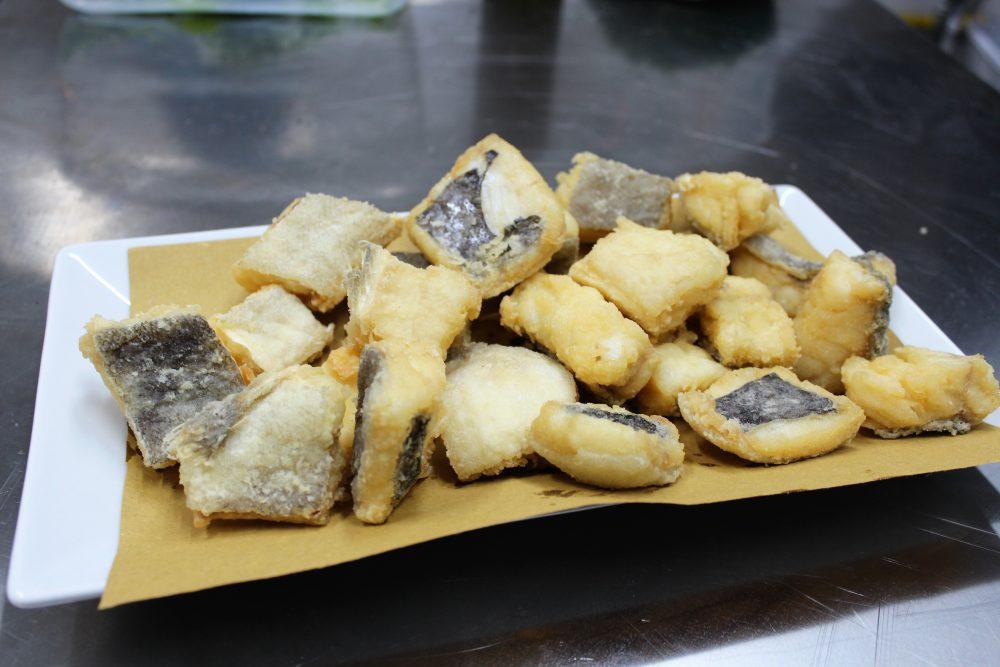 La Baccaliata III – bocconi di baccala' fritto