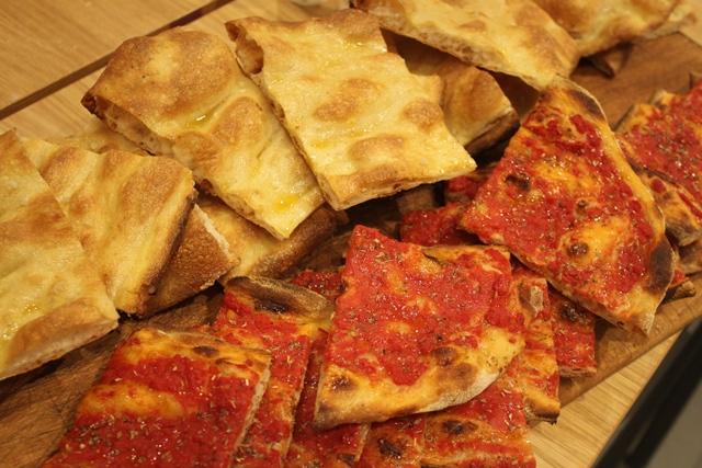 La pizza alla pala di Eataly