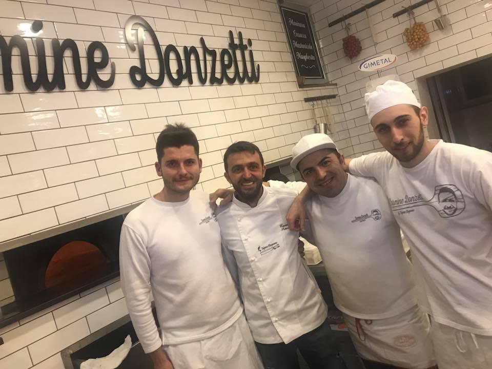 Carmine Donzetti, la squadra