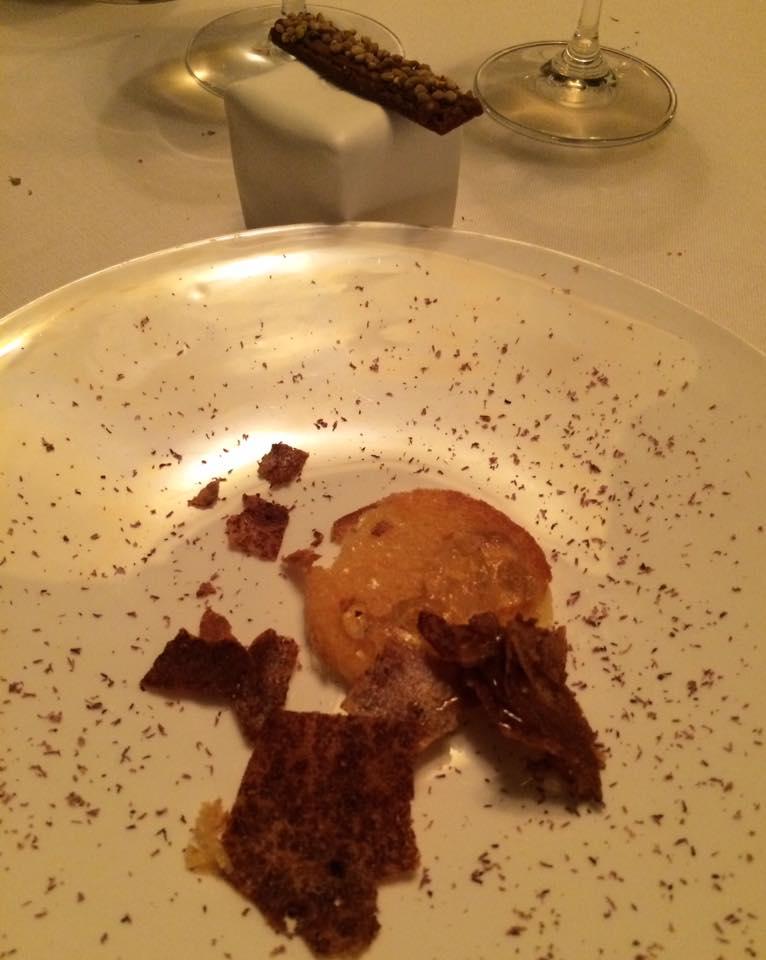 Ledoyen, dessert al miele e polline