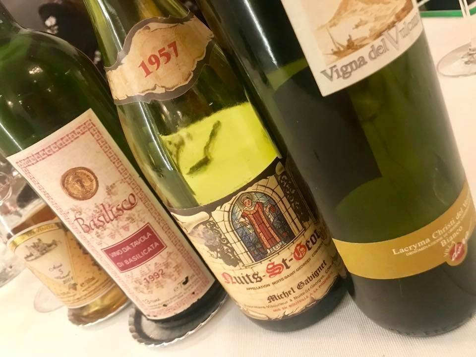 Piazzetta Milu', vini degustati