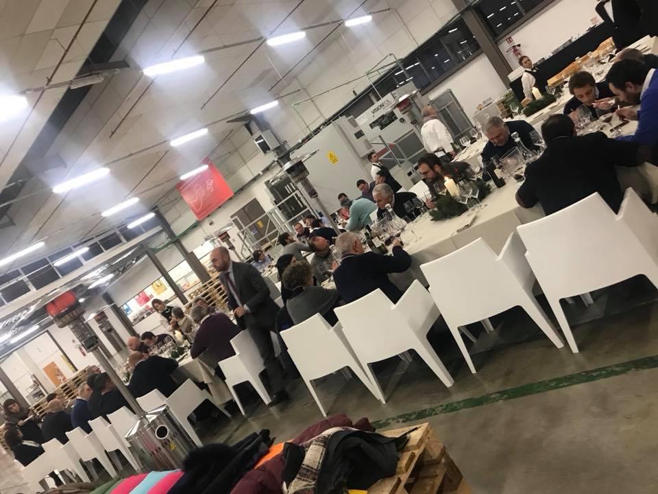La cena degli Assoenologi da Nuceria Group