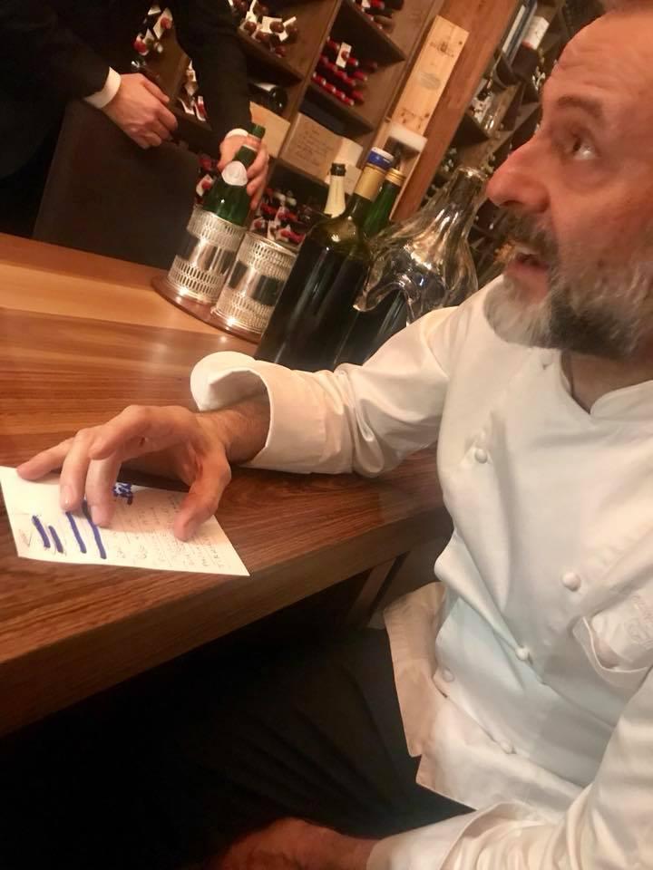 Osteria La Francescana ,Modena, Massimo Bottura e il menu'
