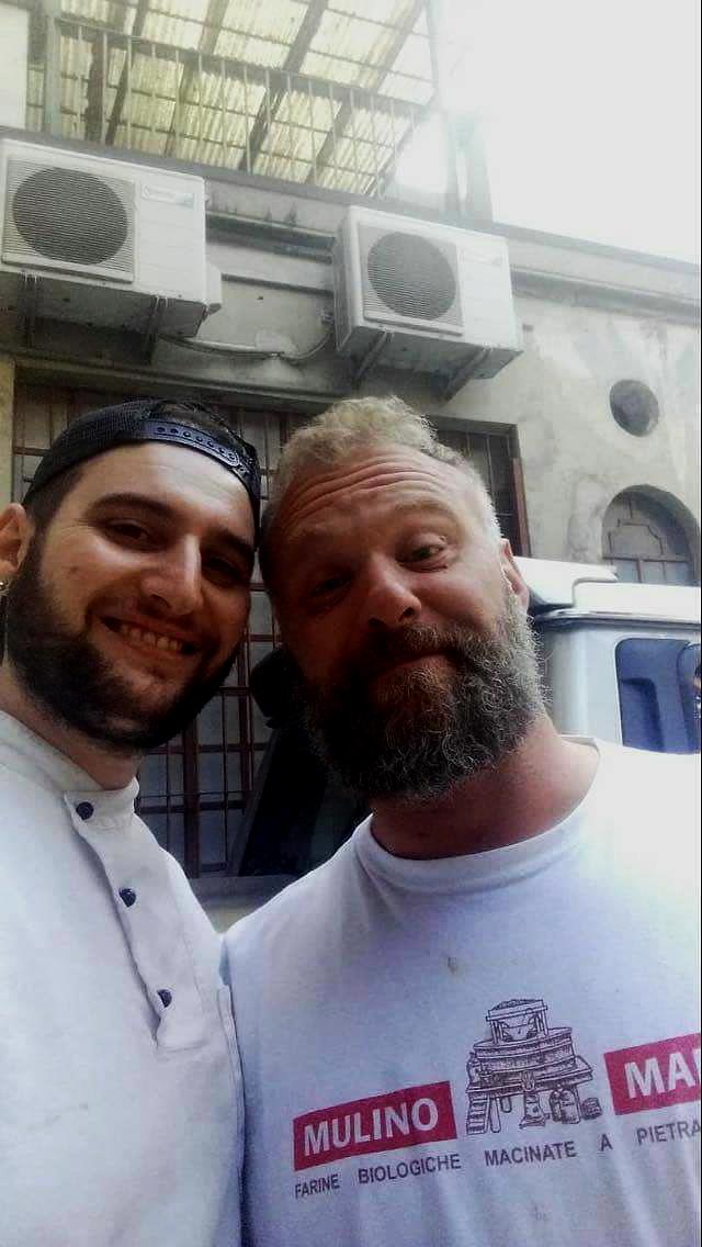 Adriano del Mastro con Bonci e Donato Di Nunzio - chef Gli Olmi a Villetta Barrea