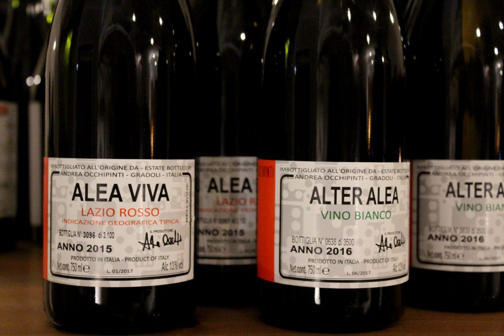 Bistrot26 – i vini di Andrea Occhipinti presenti al Bistrot26