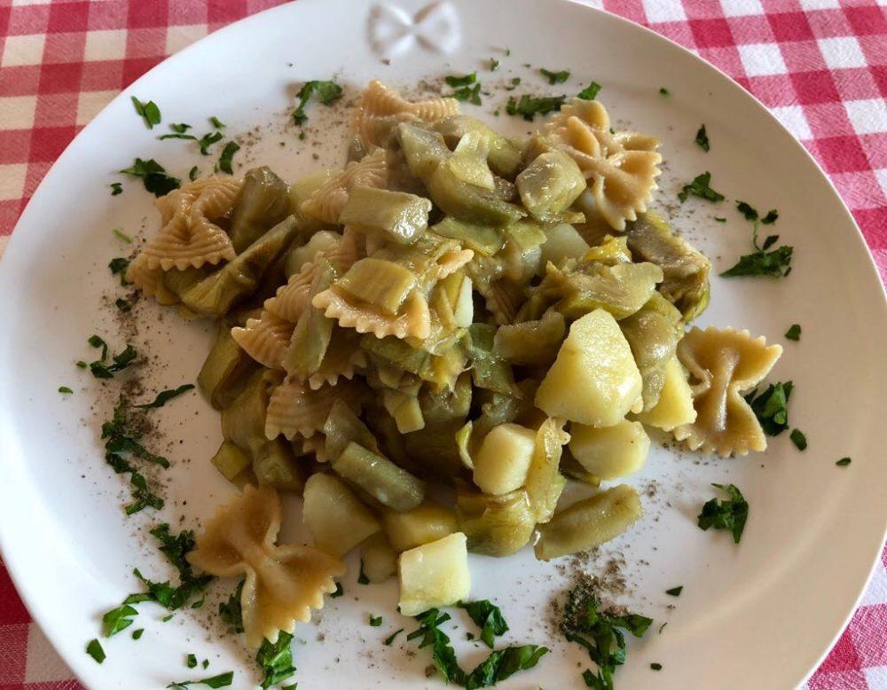 Il piatto di carciofi e patate col formato che ti fa volare