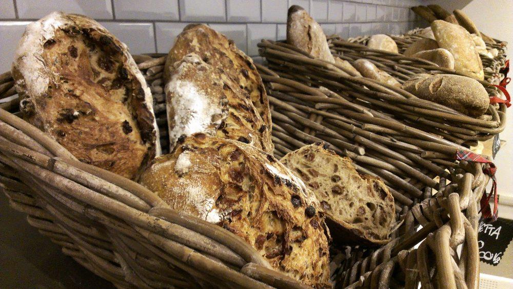 Forno del Mastro a Monza Brianza – altra tipologia di pane con uvetta