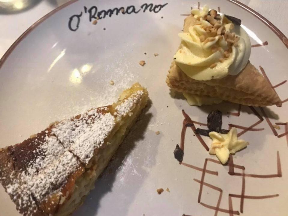 'O Romano a Sarno, dolci