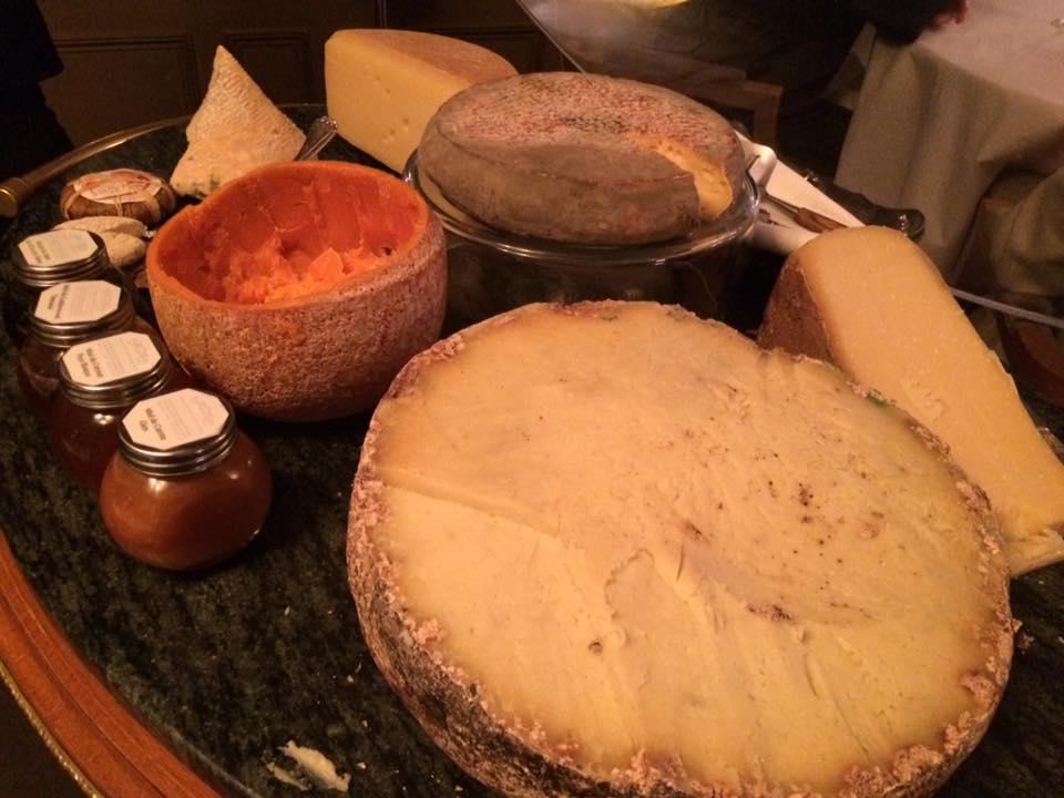 Ledoyen, il carrello dei formaggi