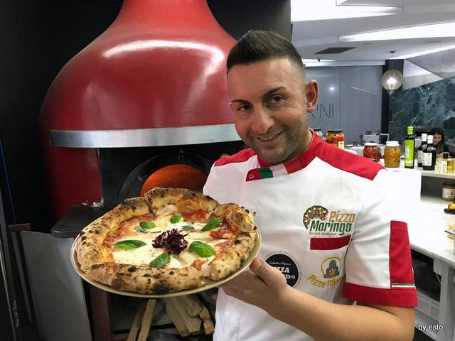 Agorini Pizzeria Gourmet Salvatore Impero pizza margherita
