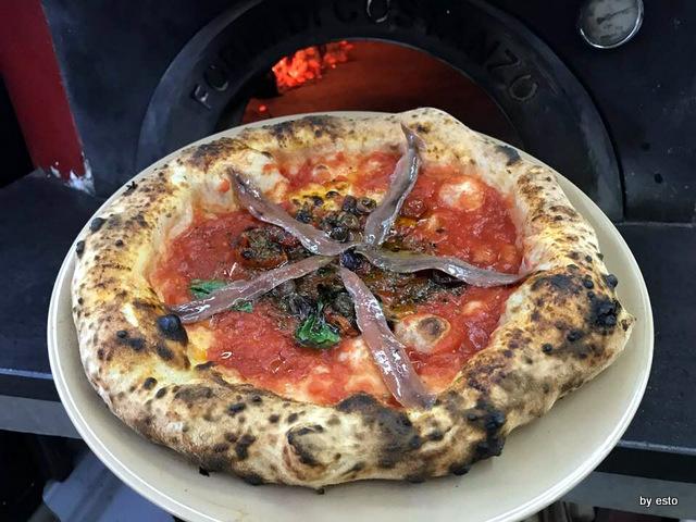 Agorini Pizzeria Gourmet Salvatore Impero pizza napoletana dop