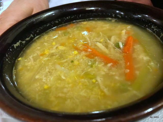 Antica Trattoria Al Bersagliere zuppa di pollo