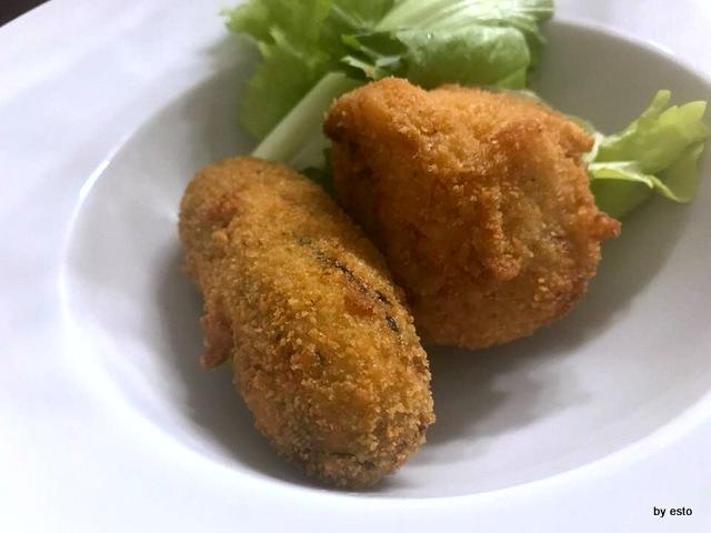 Barbacià crocchè con friarielli frittatina con ragù di capra