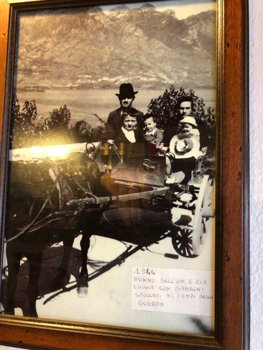 Bell'Om, foto storica