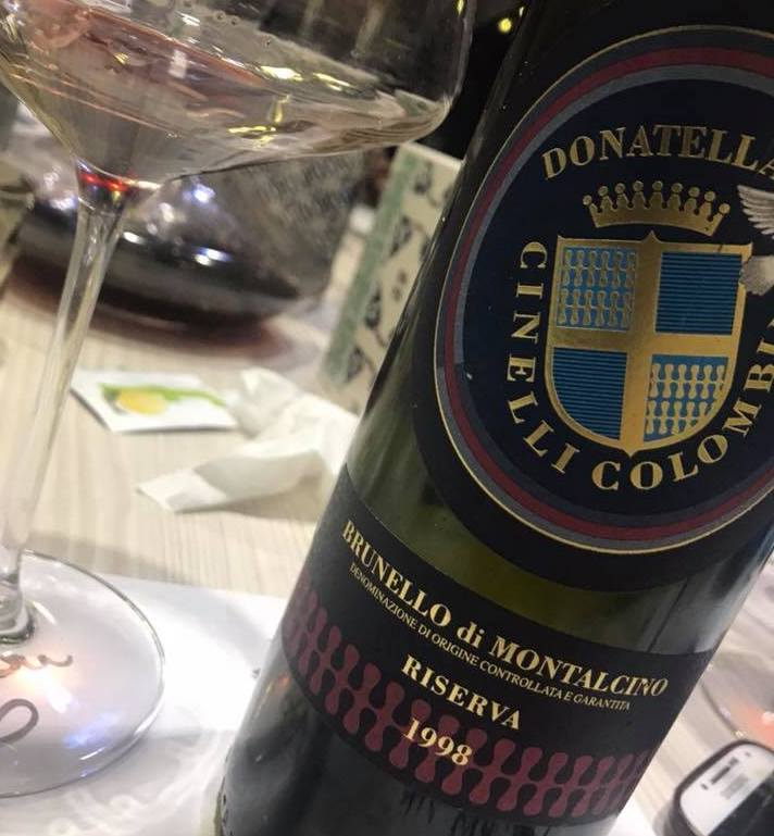 Brunello di Montalcino - Cinelli Colonna 1998