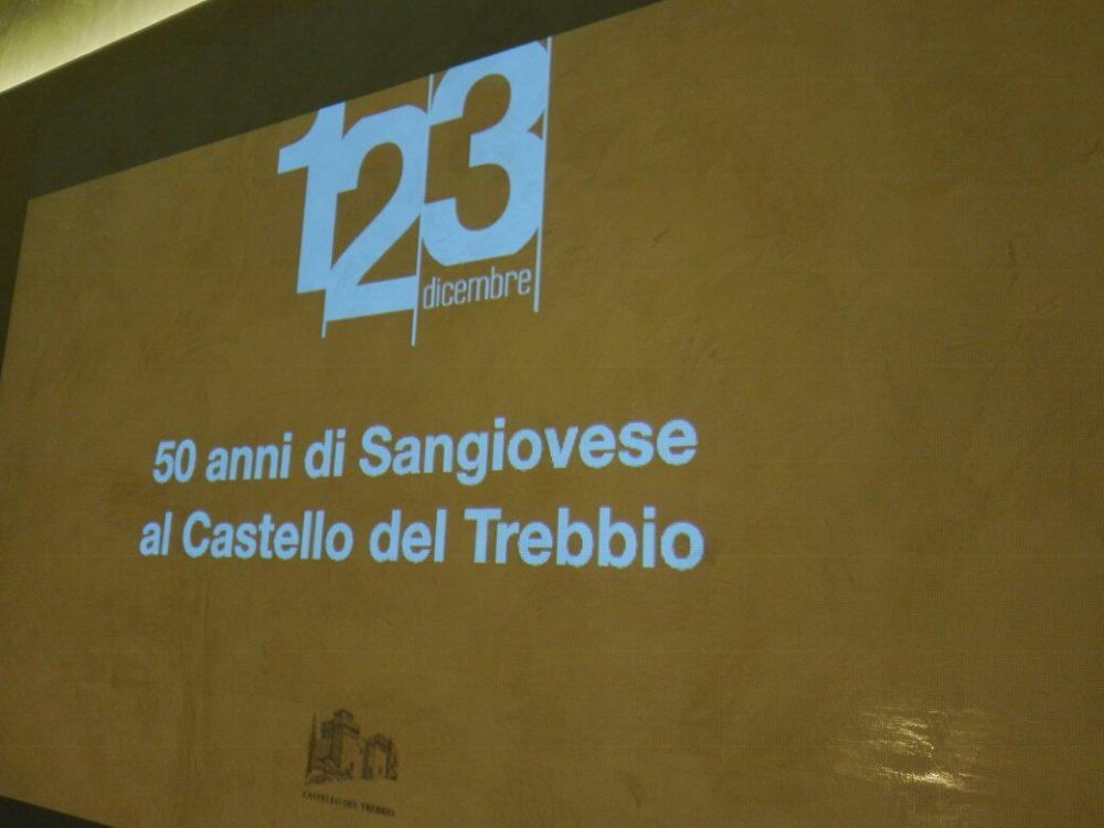 Castello del Trebbio, verticale - 50 anni di Sangiovese