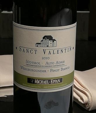 Compleanni alla cantina di San Michele Appiano - Pinot bianco 2010