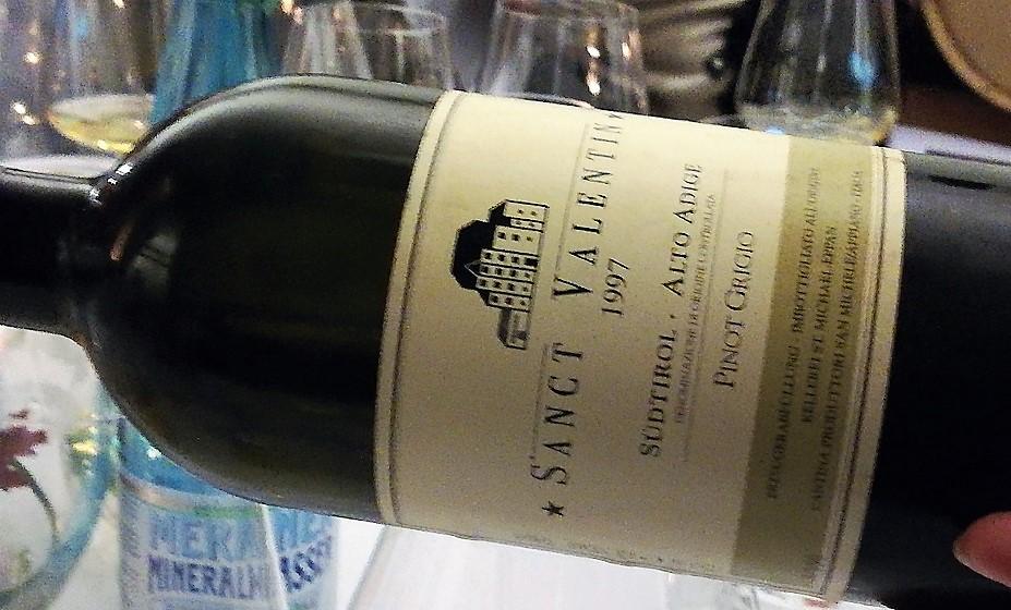 Compleanni alla cantina di San Michele Appiano - Pinot grigio 1997
