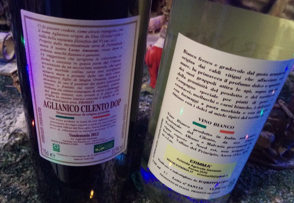 Controetichette vini di Ermma'