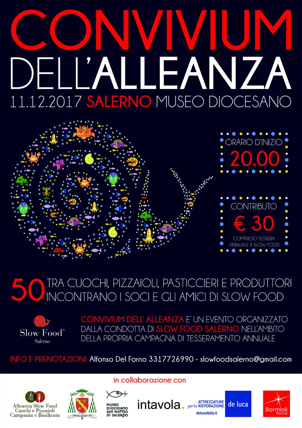 Convivium dell'Alleanza, la Festa di Slow Food Salerno