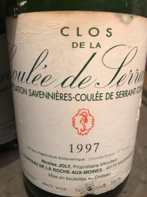 Coulee de Serrant tra presente e passato - 1997