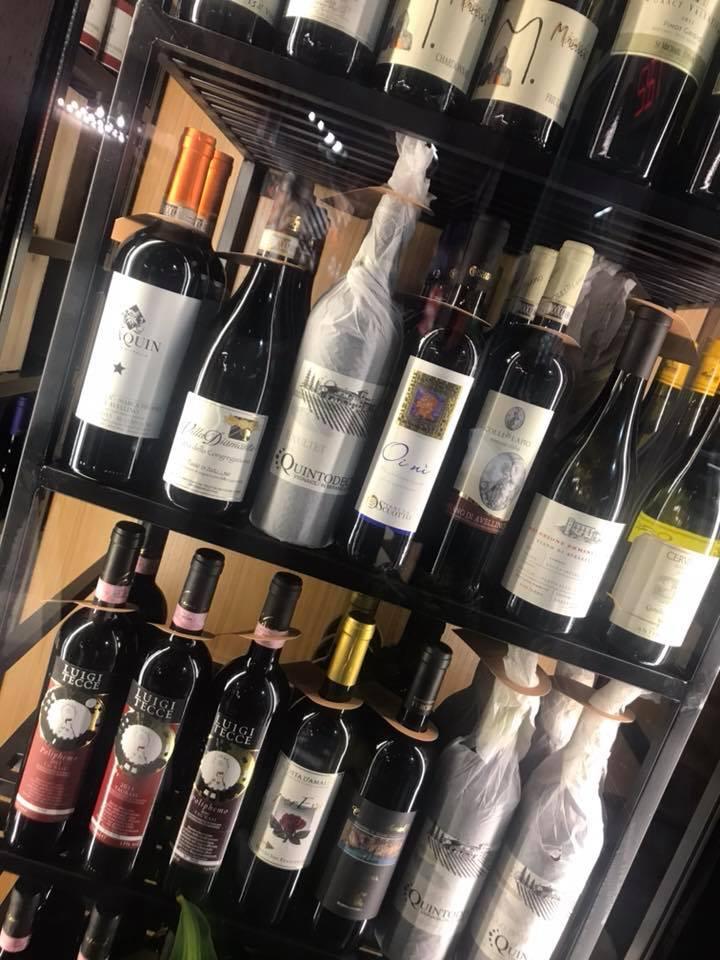 Da Gigione, selezione di vini