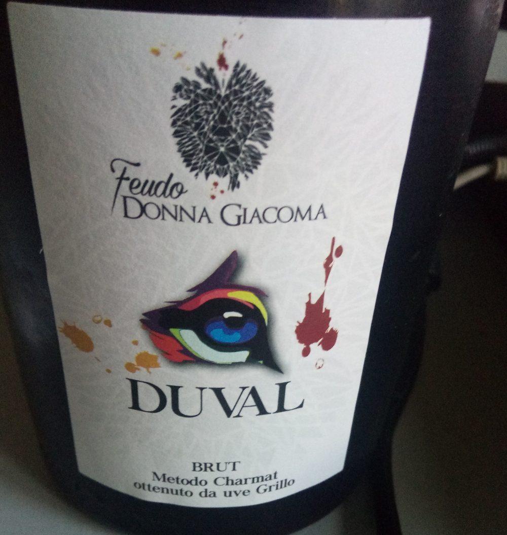 Duval Brut Metodo Charmat Feudo Donna Giacoma