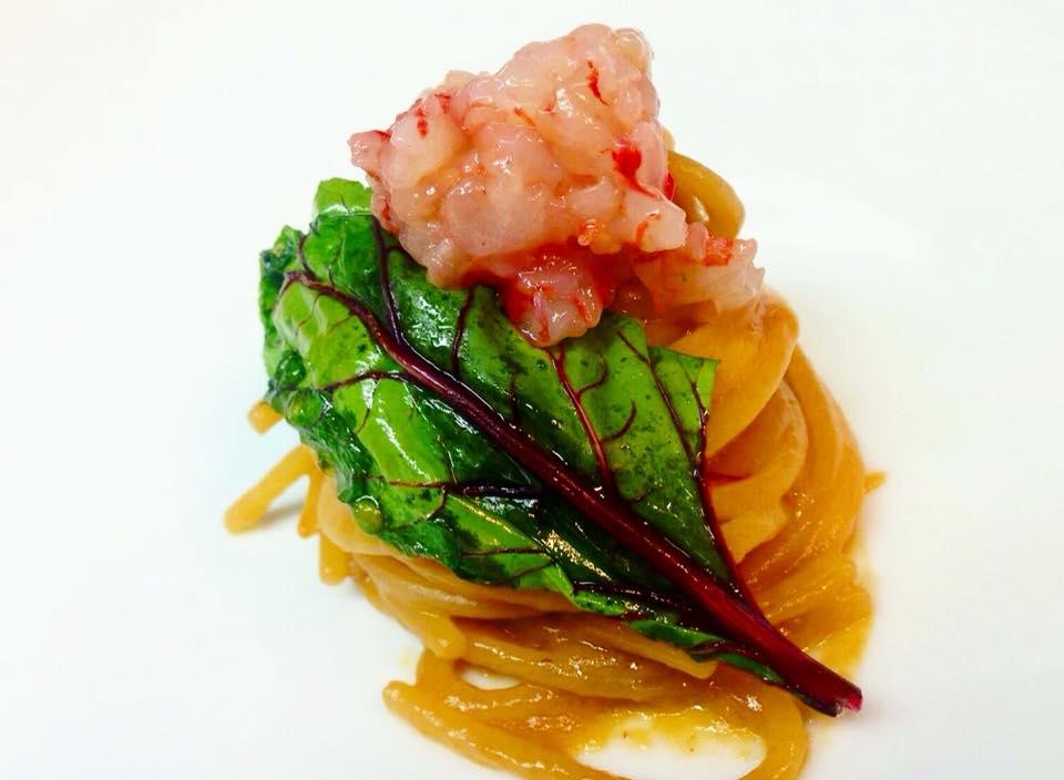 La Penna d'Oca, Lo Spaghetto ai Gamberi Rossi
