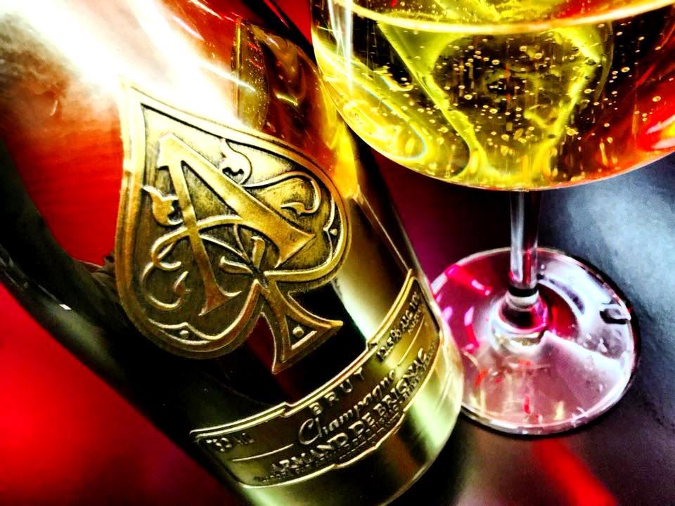 Trippicella, Champagne Armand de Brignac Brut Gold