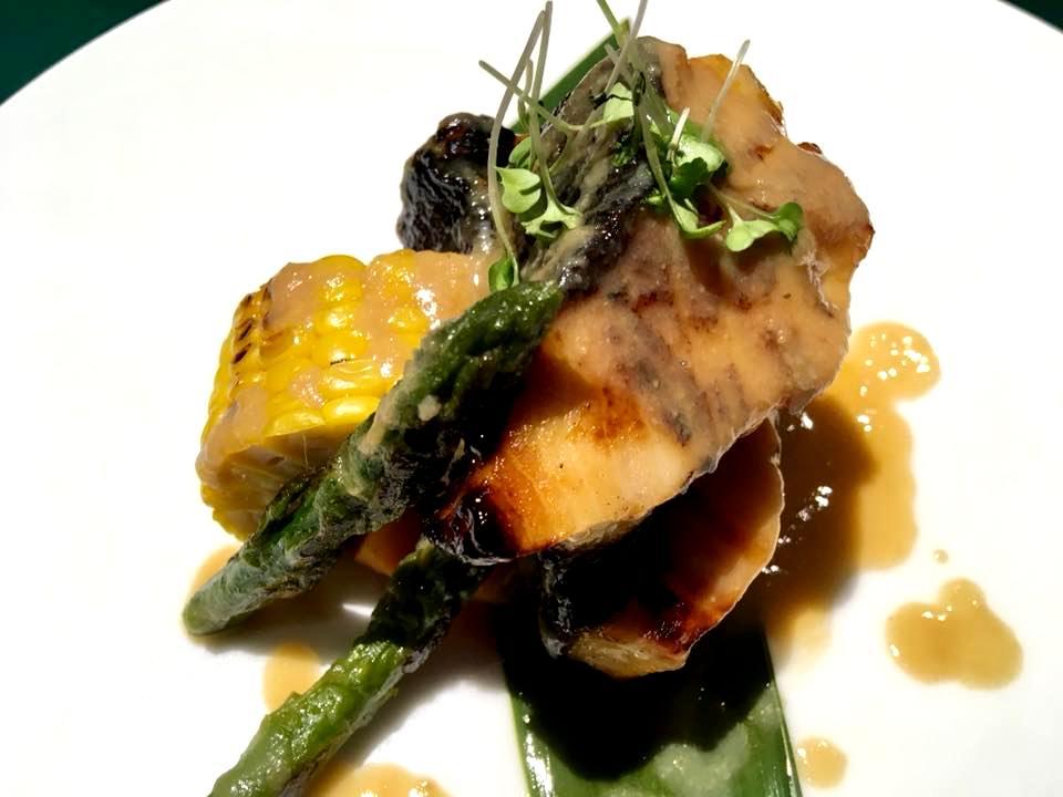 12 Shinto, Il Black Cod con le verdure croccanti