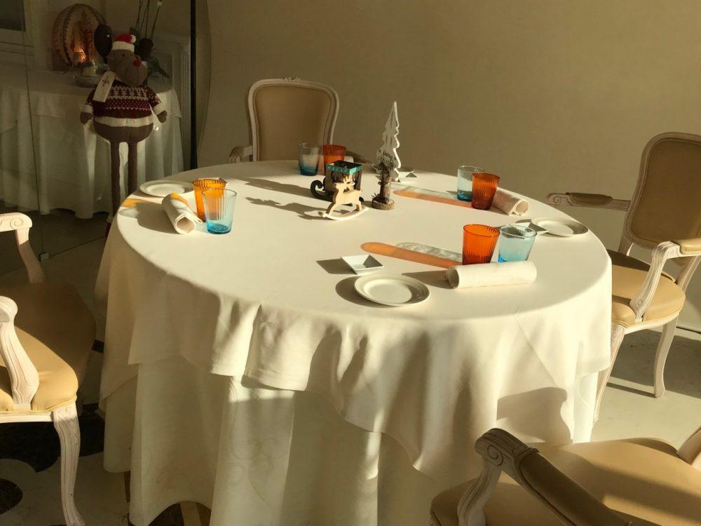 Florian Maison, tavolo e mise en place