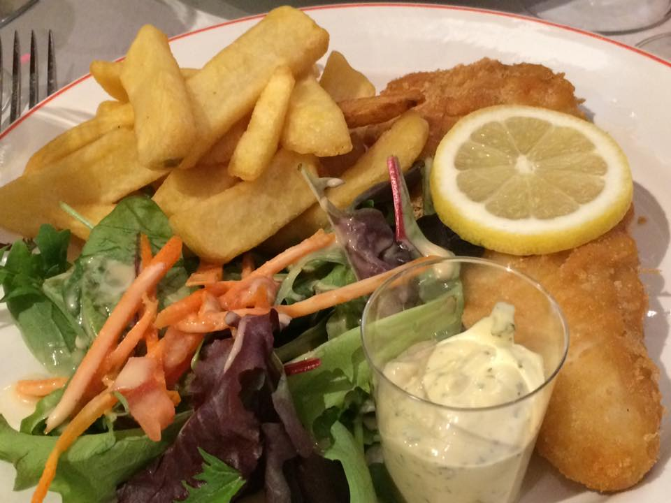 Gai Moulin Bistro, fish and chips
