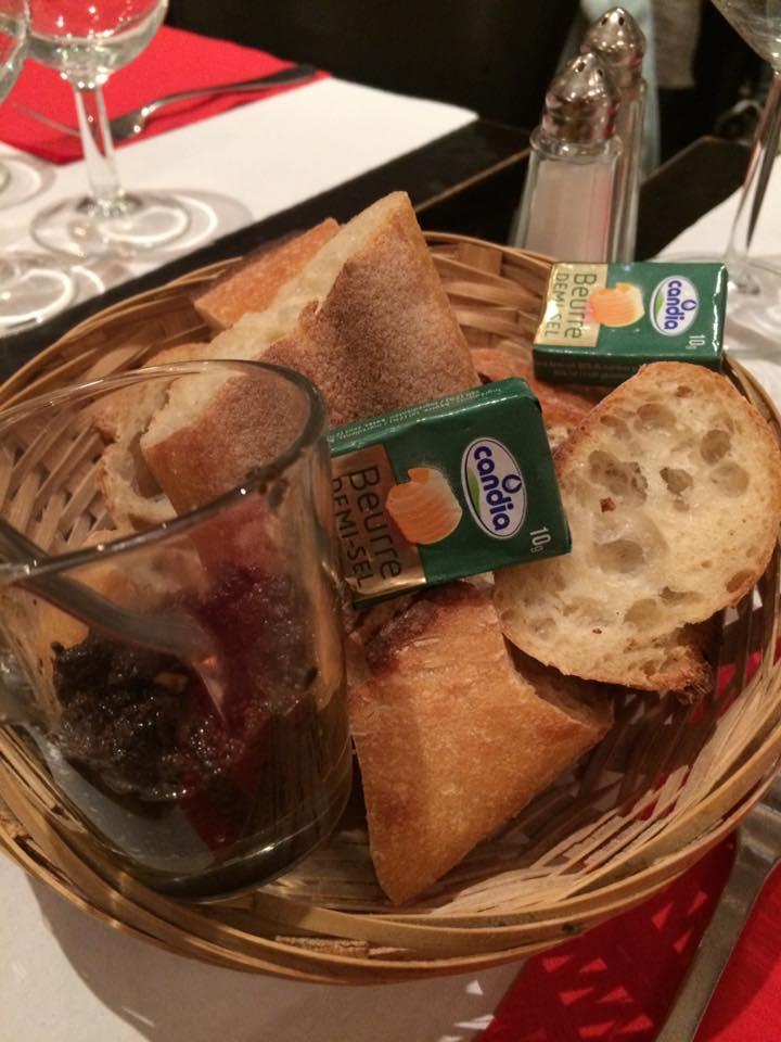 Gai Moulin Bistro, il cestino del pane