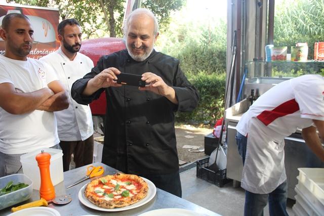 Giancarlo Casa al Festival della Gastronomia