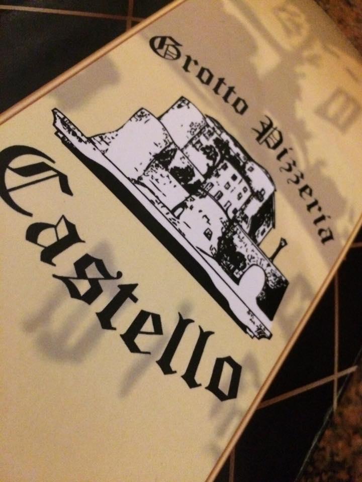Grotto Pizzeria Castello, il menu