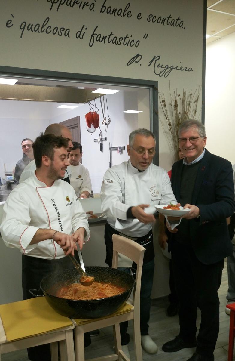 Gustarosso Academy - la spaghettata