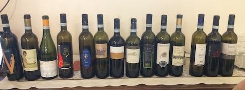 I vini in degustazione - Sannio