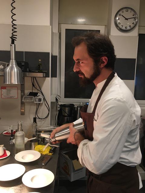 Il Margutta - Lo chef in cucina
