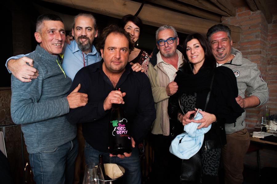 Il patron, i Del Bono e i vignaioli di Pieve de Pitti e L'Altradonna