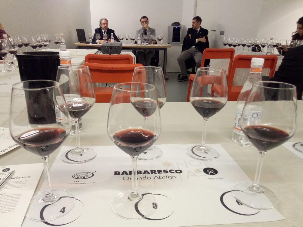 In Vino Civitas Degustazione del Barbaresco di Orlando Abrigo