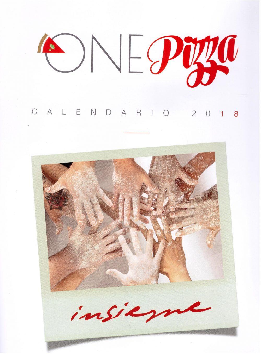 Insieme OnePizza - Calendario 2018