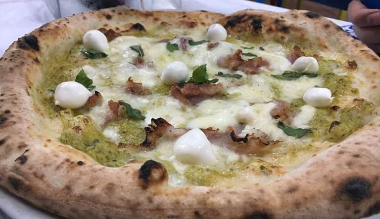 L'Oro di Napoli, la pizza A Tutto Gas di Giuseppe Rossomando