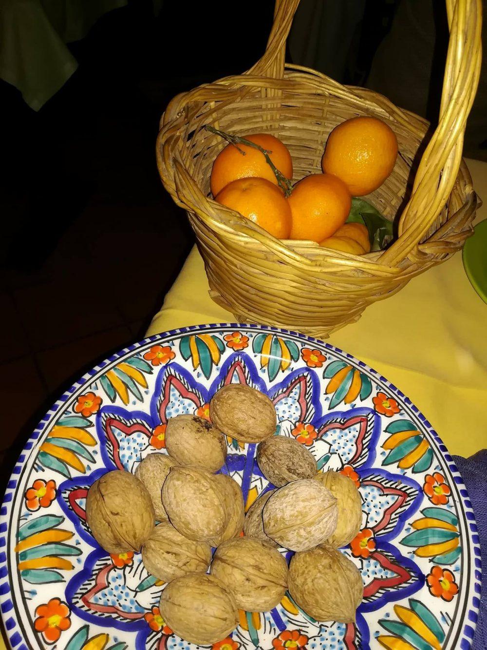La Vigna di Alberto - Le noci e i mandarini
