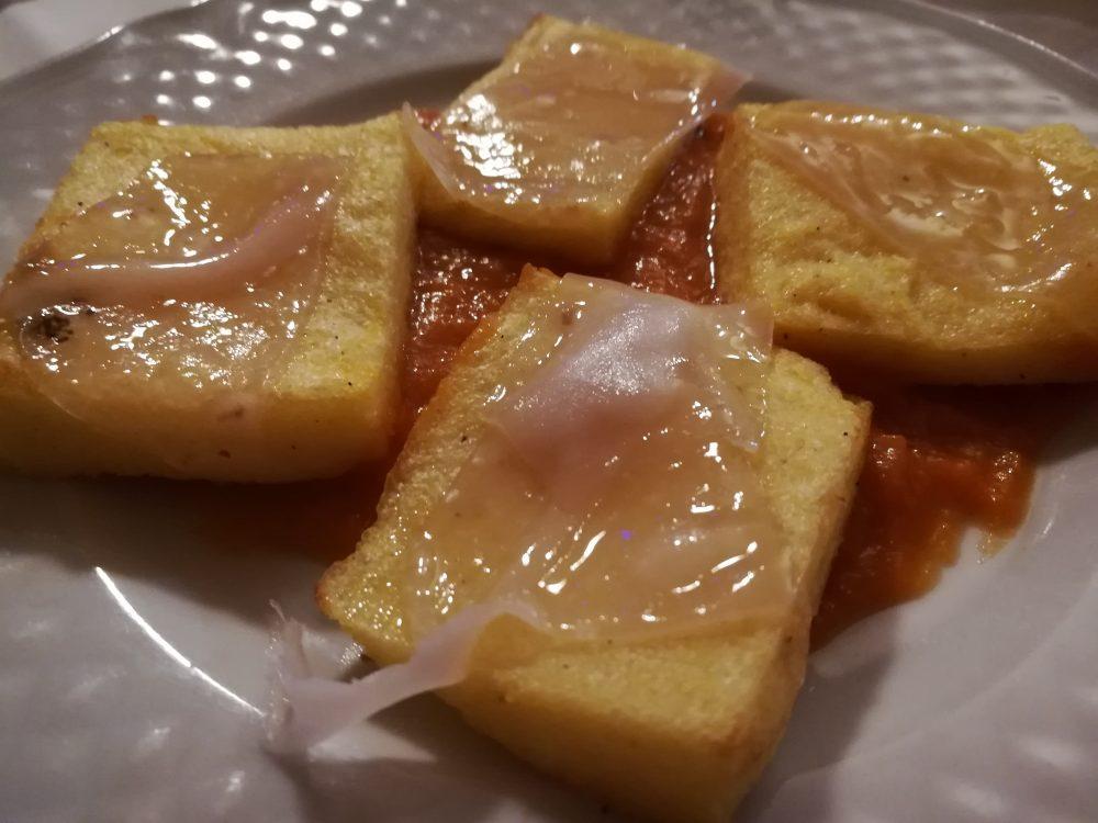 Le Fontanelle - La Polenta con Lardo su Zucca