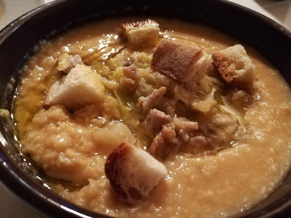Le Fontanelle - La Zuppa di Ceci, Verza e Salsiccia