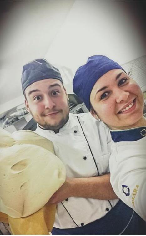 Parte del team pasticcieri Tenerita'
