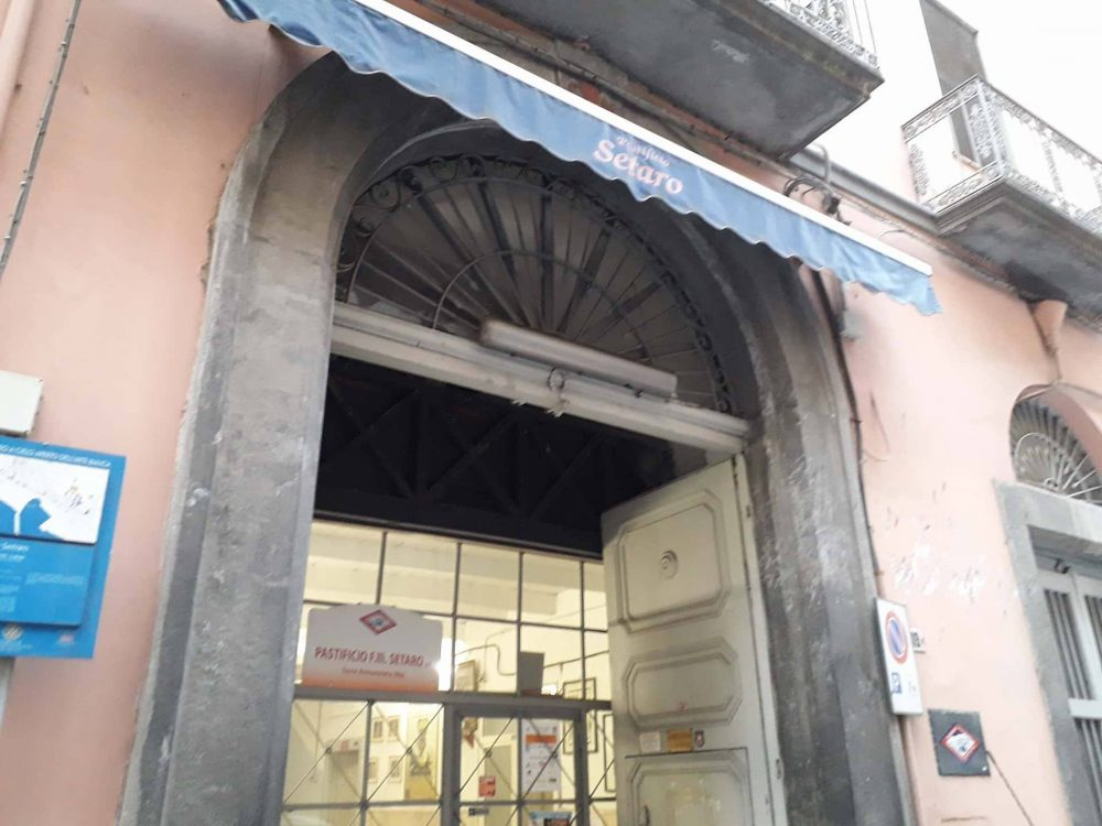 Pastificio Setaro - ingresso