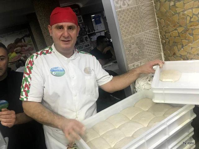 Pizzeria Nonna Ma Corrado Alfano il pizzaiolo e l'impasto